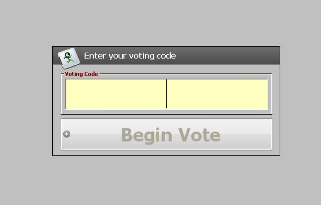 Automated voting system thesis