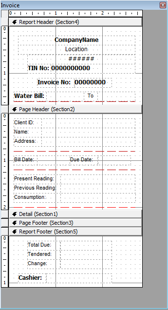 Free Download Water Billing System in Visual Basic source code