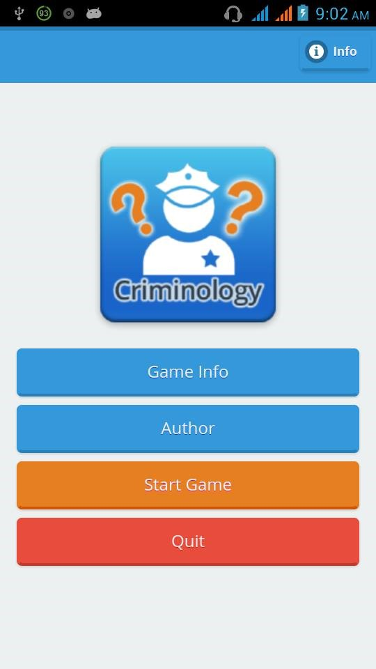 ELearning App for Criminology Students Capstone Project