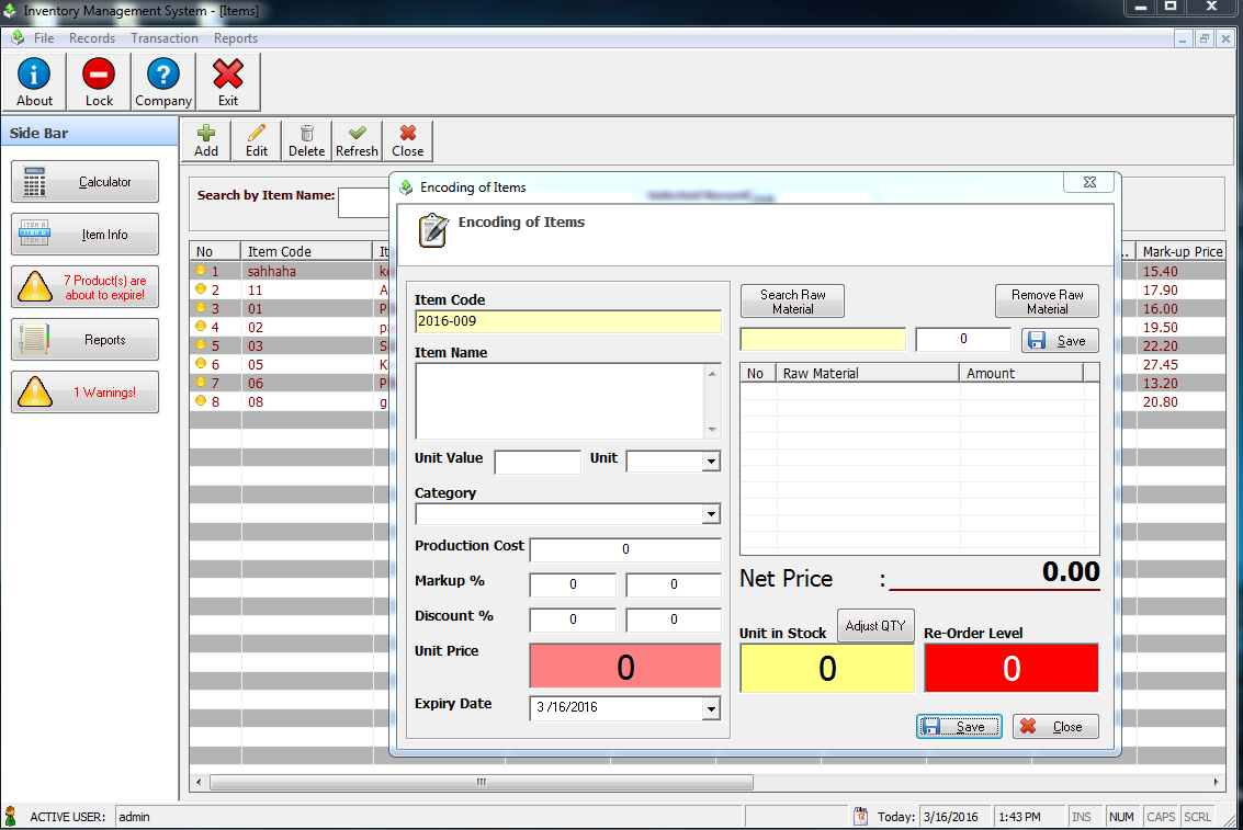 Sales and inventory with decision support system inettutor posdss pooptronica