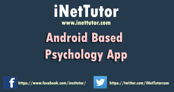 Android Based Psychology App in JQuery Mobile and Phonegap