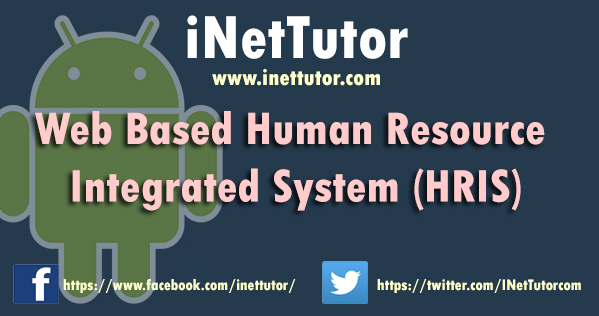 Web Based Human Resource Integrated System