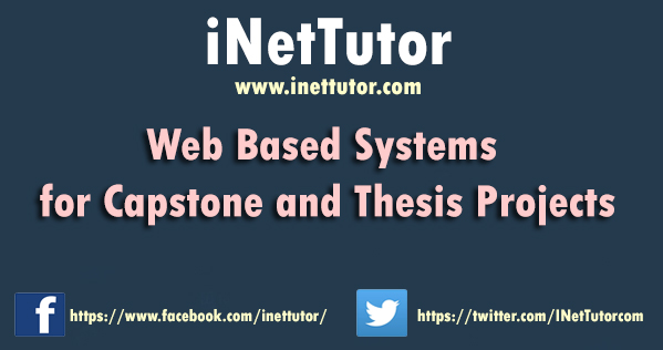 Web Based Systems for Capstone Project