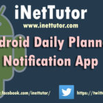 Android Daily Planner App