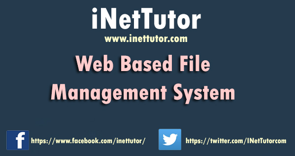 Web Based File Management System