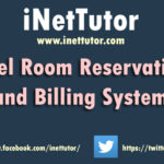 Hotel Room Reservation and Billing System