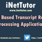Transcript of Records Processing Application
