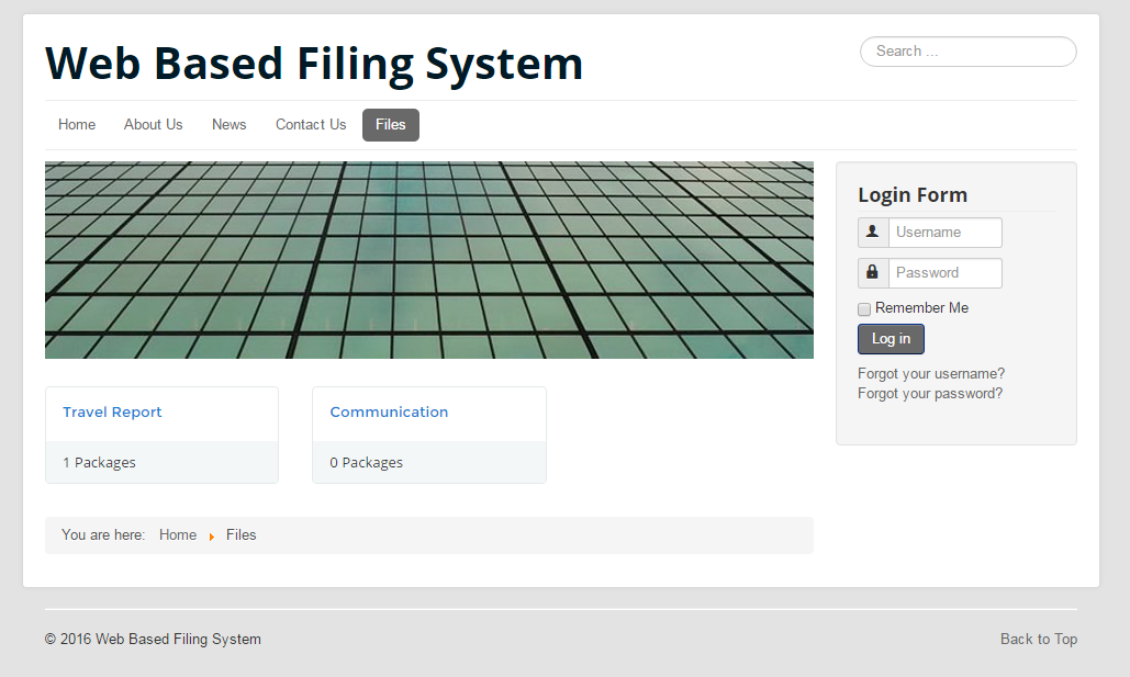 Web Based File Manament System