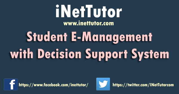 Student E-Management with Decision Support System