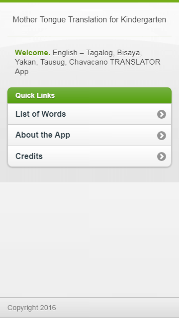 Android Based Translator App Jquery Mobile and Apache