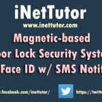 Magnetic-based Door Lock Security System using Face ID w/ SMS Notification