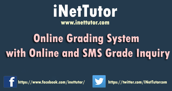 Online Grading with SMS Inquiry