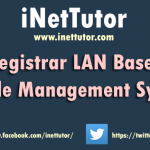 Registrar LAN Based Grade Management System