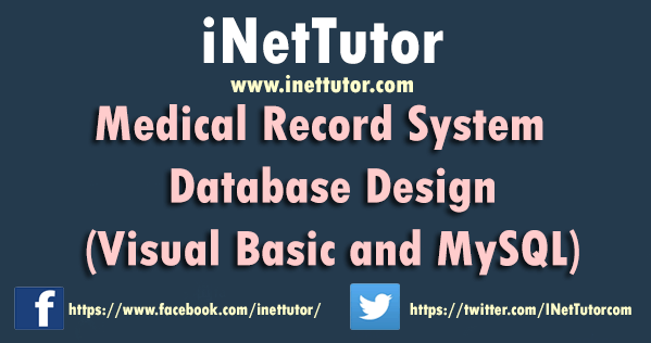 Medical Record System Database Design