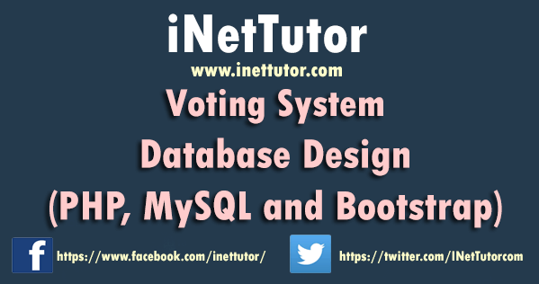 Voting System Database Design