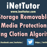 Storage Removable Media Protection using Clotion Algorithm