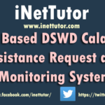 Web Based DSWD Calamity Assistance Request and Monitoring System