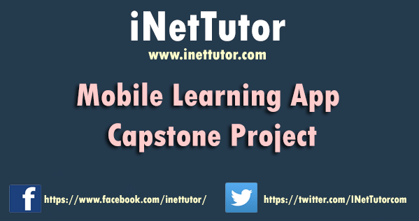 Mobile Learning App Capstone Project