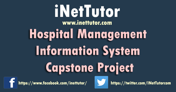 Hospital Management Information System Capstone Project