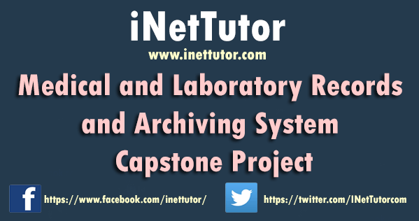 Medical and Laboratory Records and Archiving System Capstone Project