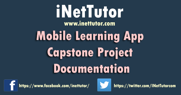 Mobile Learning App Capstone Project Documentation