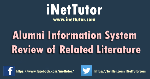 Alumni Information System Review of Related Literature