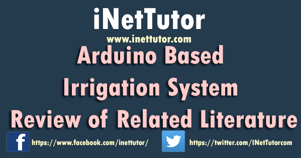 Arduino Based Irrigation System Review of Related Literature