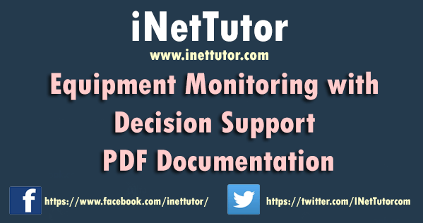 Equipment Monitoring with Decision Support PDF Documentation