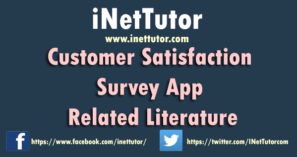 Customer Satisfaction Survey App Related Literature