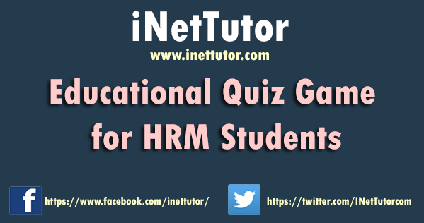 Educational Quiz Game for HRM Students