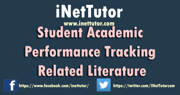 Student Academic Performance Tracking Related Literature