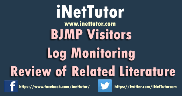 BJMP Visitors Log Monitoring Review of Related Literature