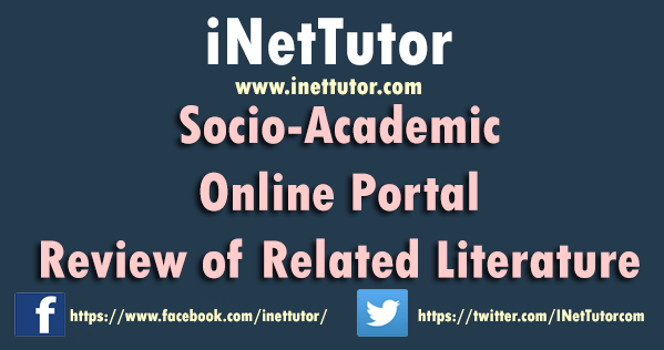 Socio-Academic Online Portal Review of Related Literature