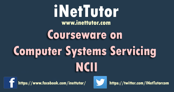Courseware on Computer Systems Servicing NCII