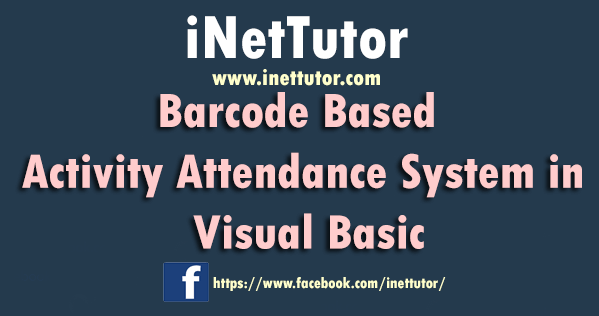 Barcode Based Activity Attendance System in Visual Basic