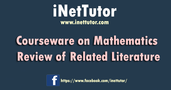 Courseware on Mathematics Review of Related Literature