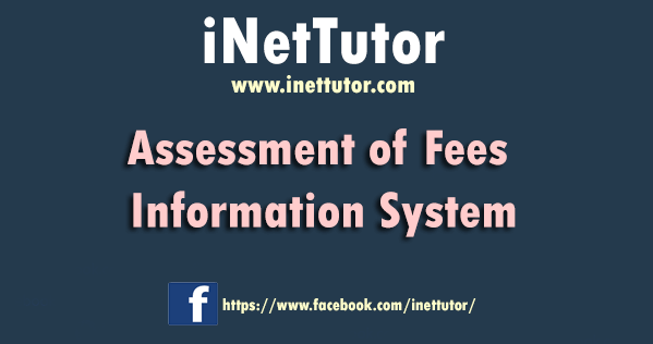 Assessment of Fees Information System