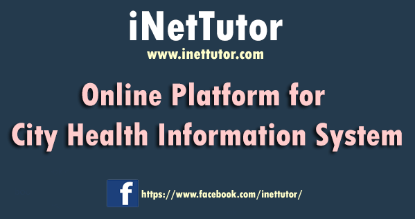 Online Platform for City Health Information System