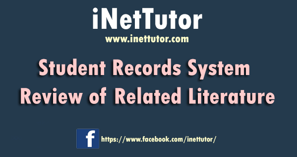 Student Records System Review of Related Literature