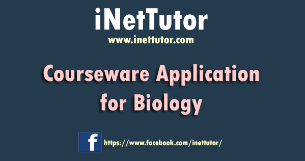 Courseware Application for Biology