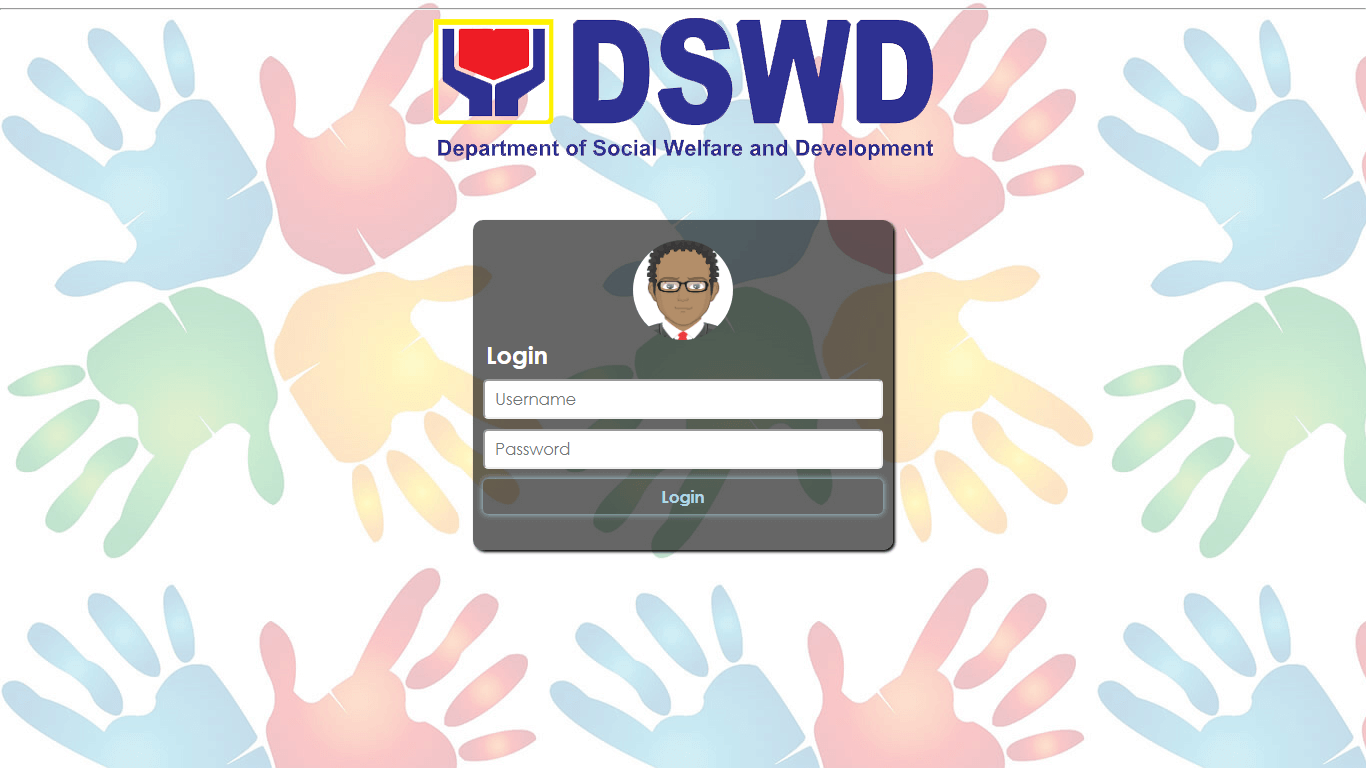 Donation Information System Admin Login Page