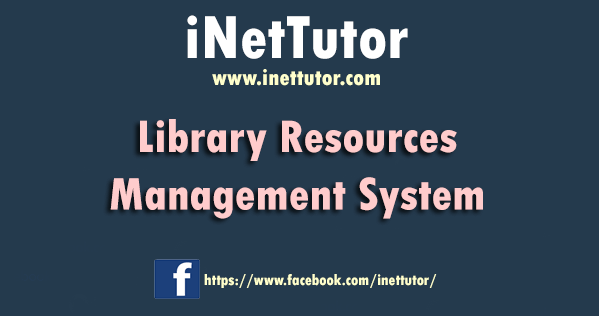 Library Resources Management System