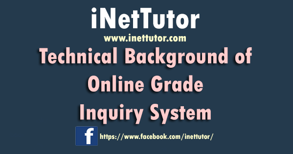 Technical Background of Online Grade Inquiry System