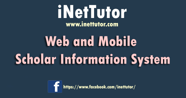 Web and Mobile Scholar Information System