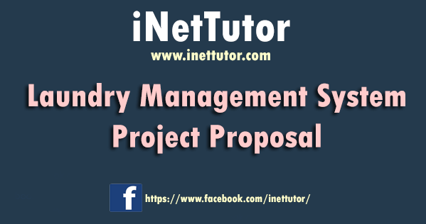 Laundry Management System Project Proposal