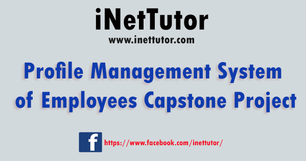 Profile Management System of Employees Capstone Project