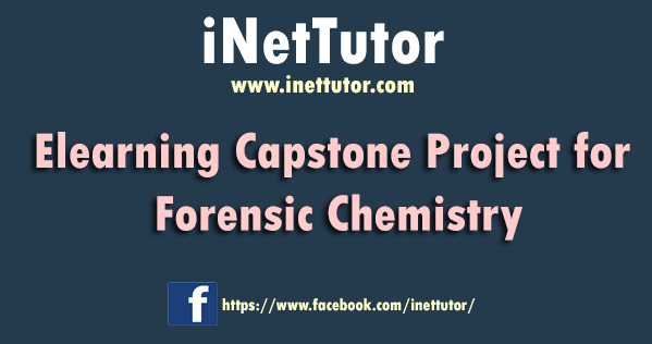 Elearning Capstone Project for Forensic Chemistry