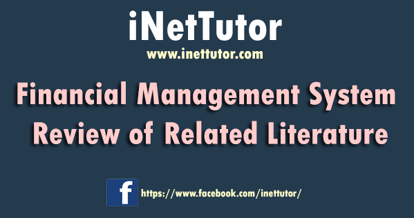 Financial Management System Review of Related Literature