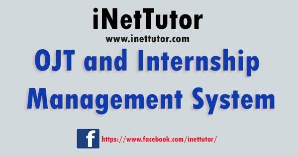 OJT and Internship Management System