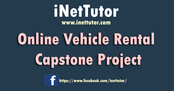 Online Vehicle Rental Capstone Project